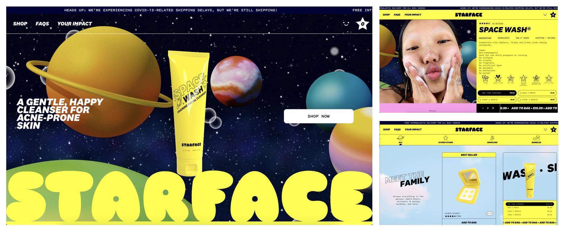 Starface ecommerce