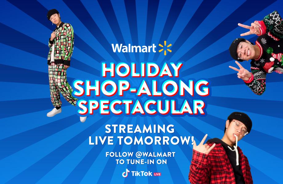 shopstreaming Walmart x TikTok