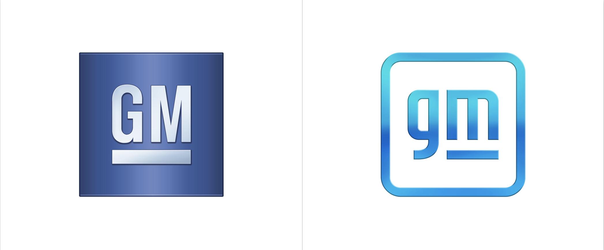 Auto brand trends: GM logo