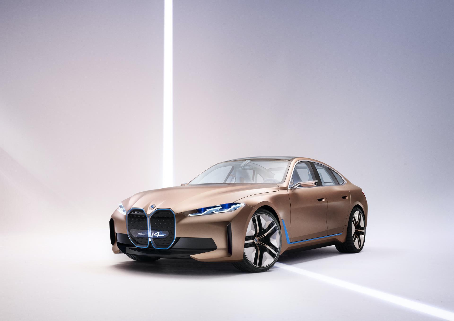 Auto brands trend: BMW i4